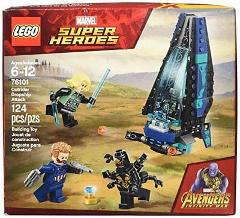 LEGO Super Heroes Outrider Dropship Attack 76101 Building Kit ...