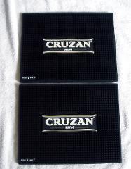 2 Cruzan Rum Rubber Bar Spill Mat Large 14