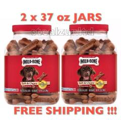 Milk Bone Soft & Chewy Beef & Filet Mignon Recipe Dog Treats (...