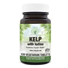 Natural Nutra Kelp Iodine Supplement Promotes Thyroid Health M...
