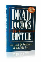 Dead Doctors Don't Lie (2004, Paperback) By Dr Joel Wallach Fr...