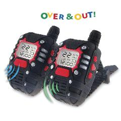 Kids Mega Long Range Two-Way Radio Wrist Walkie Talkie Set