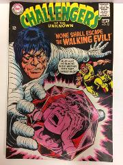 Challengers of the Unknown #63 Comic Book DC 1968