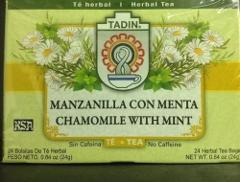 TADIN CHAMOMILE WITH MINT HERBAL TEA 24 BAGS