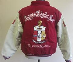 KAPPA ALPHA PSI FRATERNITY WOOL LETTERMAN JACKET NUPE WOOL FRA...