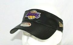 Los Angeles Lakers Leather Visor Adjustable