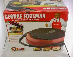 George Foreman 360 Large Grill -Red