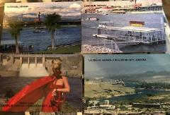 4 postcards laughlin nevada NV color photo bullhead city davis...