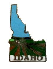 Idaho State Outline Hat Tac or Lapel Pin