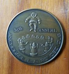 Greater Anchorage Inc Alaska 1971 Fur Rendezvous Commemorative...
