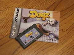 Dogz game boy advance game and insert booklet Gameboy