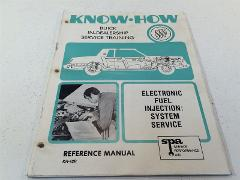 1981 Buick Know How Electronic Fuel Injection System Service T...