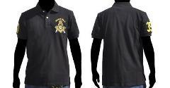 Prince Hall Masonic Polo Shirt Black PHA Freemason Masonic go...