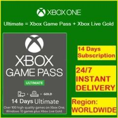 Instant Delivery - Xbox Game Pass Ultimate 14 Days + XBOX LIVE...