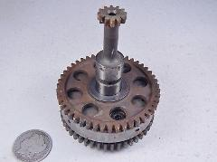 78 Yamaha XS750 XS 750 Special Starter Starting Clutch Asy