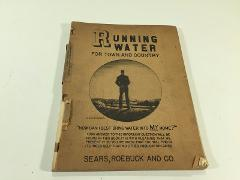 Vintage 1940 Sears & Roebuck Running Water For Town & Country ...
