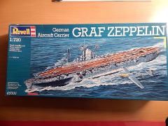 Revell German Aircraft Carrier Graf Zeppelin 1:720 scale