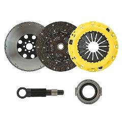 CLUTCHXPERTS STAGE 2 CLUTCH KIT+FLYWHEEL Fits 89-90 NISSAN 240...