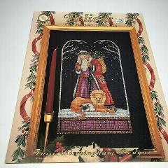 Lori Birmingham Cross Stitch Pattern Believe, the Yuletide Col...