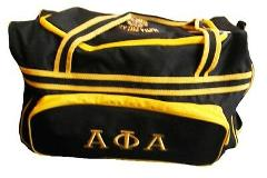 Alpha Phi Alpha Fraternity Luggage bag with Wheels Handle exte...