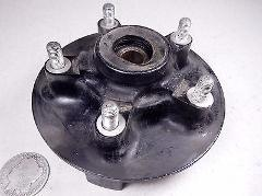 83 HONDA FT500 FT 500 ASCOT REAR WHEEL DRIVE HUB FLANGE