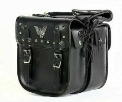Waterproof PVC Motorcycle Saddlebag With Heavy Duty Cover Zip ...