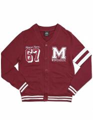 MOREHOUSE COLLEGE CARDIGAN SWEATER MEN'S HBCU CARDIGAN SWEATER