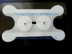 Electrode Pads for Vitalstim Speech Therapy (10) 2.2mm Snap Dy...