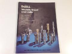 Vintage 1977 DoAll World's Finest End Mills Catalog