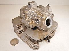 86 Suzuki Quadsport LT230S LT230 S Cylinder Head & Rocker Box ...