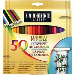 Sargent Art Premium Coloring Pencils, Pack of 50 Assorted Colo...