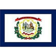 West Virginia State 3x5 Flag