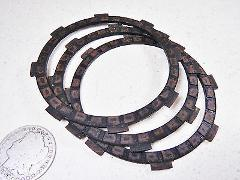 1974 YAMAHA RD60 CLUTCH FRICTION FIBER FIBRE PLATES DISKS DISC...
