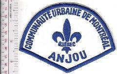 Montreal Police Department Communaute Urbaine Anjou Station Re...
