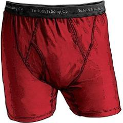 1 Duluth Trading Co Buck Naked Performance Boxer Briefs Classi...