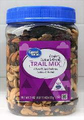 Great Value Cashew, Cranberry & Almond Trail Mix 29 oz