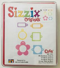 Sizzix Die-cut Bookplates Gelly-O 38-1192 Cuts Cartridge Provo...