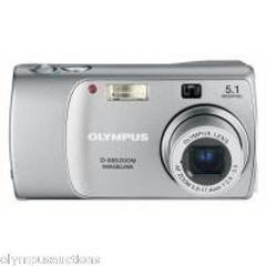 Olympus D-555 5.1mp Zoom Digital Camera