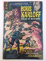 Boris Karloff Tales of Mystery #28 Comic Book Gold Key 1969