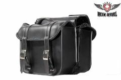 Throwover Motorcycle Saddlebag PVC Waterproof Universal Quick ...