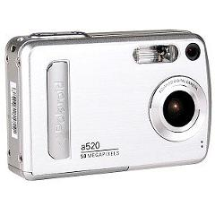 POLAROID A520 - 5.0 MEGAPIXEL DIGITAL CAMERA WITH 4X ZOOM. SIL...