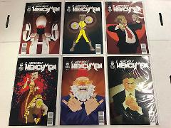 Henchmen I, Henchbot #1 2 3 4 5 6 Comic Book Set #1-6 Robot Pa...