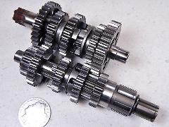 73 HONDA SCRAMBLER CL125S TRANSMISSION GEAR SET