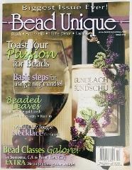 Bead Unique Magazine #10 Fall 2006 Art Jewelry Home Decor Fash...