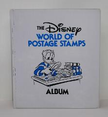 Disney World of Postage Stamp Album w/Series II Stamps RARE