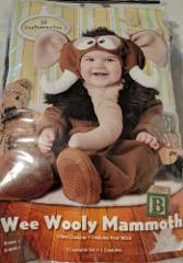 Wee Wooly Mammoth Infant Costume Medium 12 18 Months Incharact...