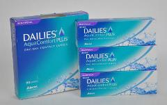 DAILIES AquaComfort PLUS Multifocal 90ct CONTACT Alcon -0.50 t...
