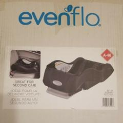 Evenflo Embrace Infant Car Seat Base Black Quick-release Baby...