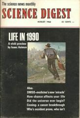 Vintage Science Digest Magazine Cover Article Life in 1990 by ...