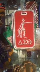 DELTA SIGMA THETA Sorority Luggage Tag DELTA DIVA LUGGAGE BA...